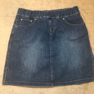 Jag Jeans Jean Skirt with elastic band